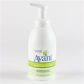 B4 Brands Avant Alcohol-Free Foaming Instant Hand Sanitizer