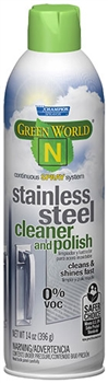 Green World N Champion Sprayon Stainless Steel Cleaner and Polish