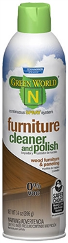 Green World N Champion Sprayon Furniture Cleaner and Polish